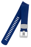 CRAFTER BLUE Rubber Watch Strap for Tudor Pelagos Series – BLUE