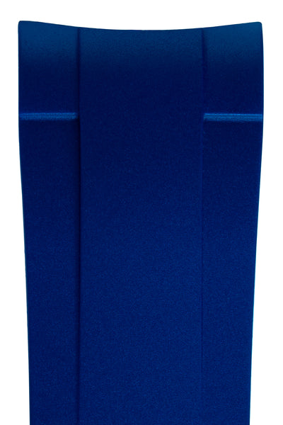 Crafter Blue Rubber Watch Strap for Tudor Pelagos Series in Blue & Red (Detail)