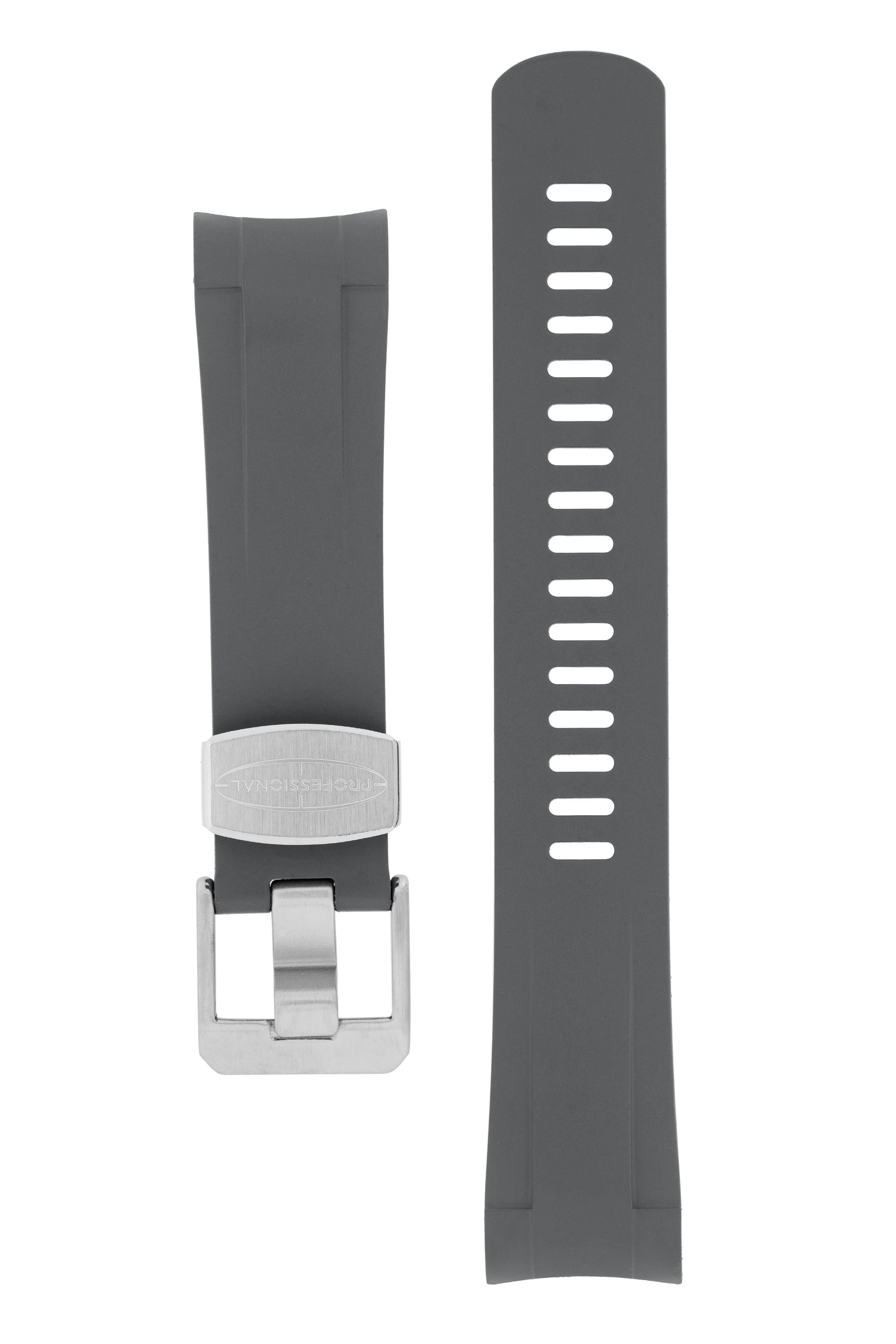 CRAFTER BLUE Rubber Watch Strap for Tudor Pelagos Series – GREY