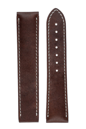 OMEGA CUZ006728 Speedmaster 20mm Leather Deployment Strap - BROWN