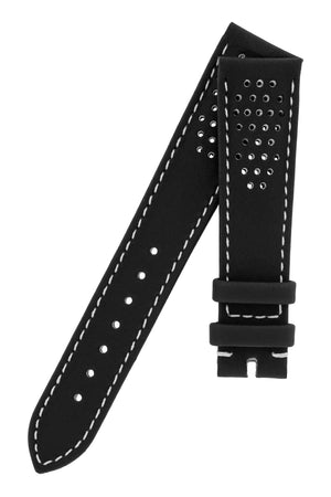 OMEGA CUZ009780 Speedmaster 'CK2998' Perforated Leather Watch Strap in BLACK