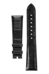 OMEGA CUZ013142 Speedmaster Apollo 11 Alligator Watch Strap - BLACK