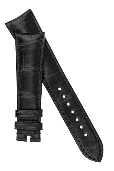 OMEGA CUZ000843 Speedmaster Genuine Alligator 20mm Watch Strap in BLACK