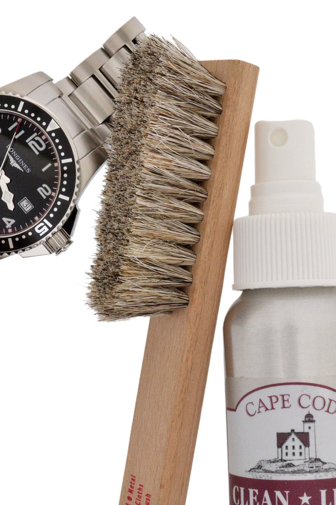 Cape Cod Horsehair Watch Detail Brush