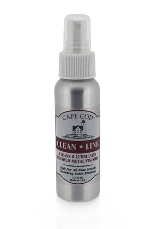 Cape Cod Cleaning Spray for Brushed Metals (Front Label)