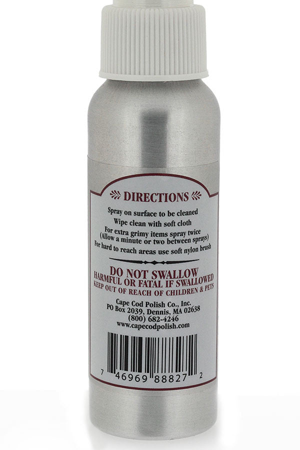 Cape Cod Metal Cleaning Spray