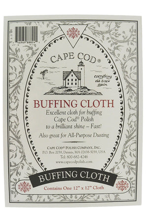 Cape Cod Polishing & Buffing Cloth Pack (Label)