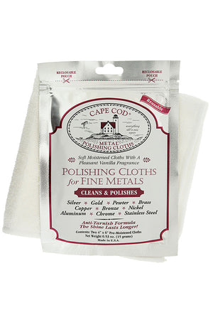 Cape Cod Polishing & Buffing Cloth Pack