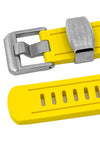 CRAFTER BLUE Rubber Watch Strap for Seiko Sumo – YELLOW