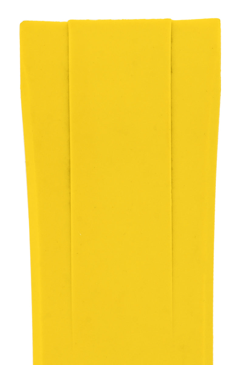 "CRAFTER BLUE Rubber Watch Strap for Seiko ""New"" Turtle Series – YELLOW"