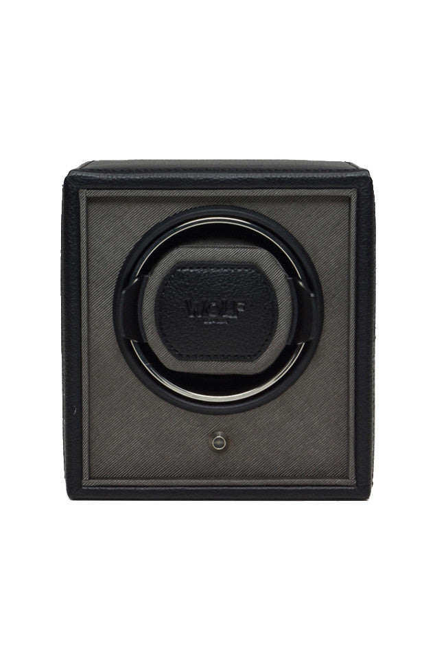WOLF CUB Single Watch Winder in BLACK