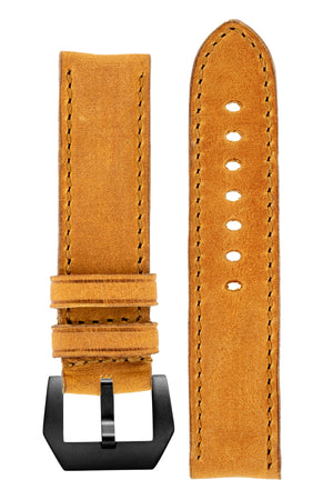 Load image into Gallery viewer, Rios1931 DERBY Genuine Vintage Leather Watch Strap in HONEY