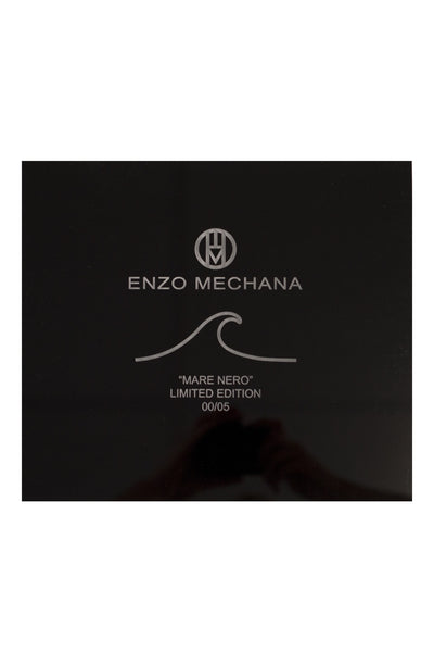Enzo Mechana Mare Nero Limited Edition 42mm Automatic Watch with Black Dial (Numbered Packaging)