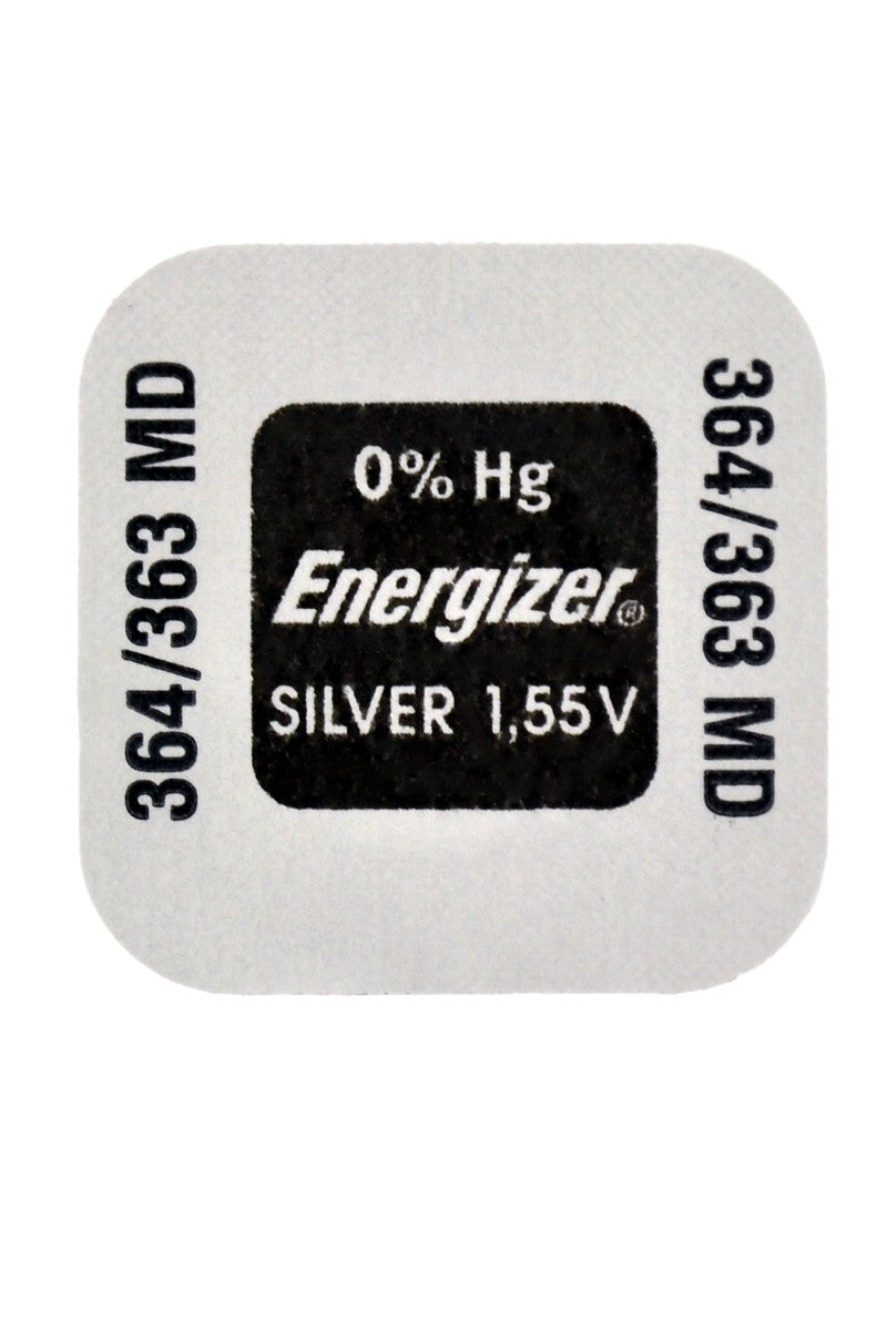 ENERGIZER Multi-Drain High Performance Watch Battery - 363