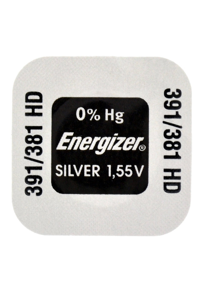 Energizer Multi-Drain High Performance Watch Battery - 381