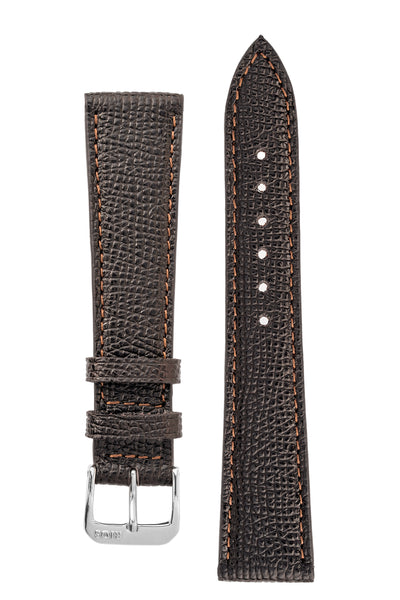 Rios1931 FRENCH Leather Watch Strap in MOCHA
