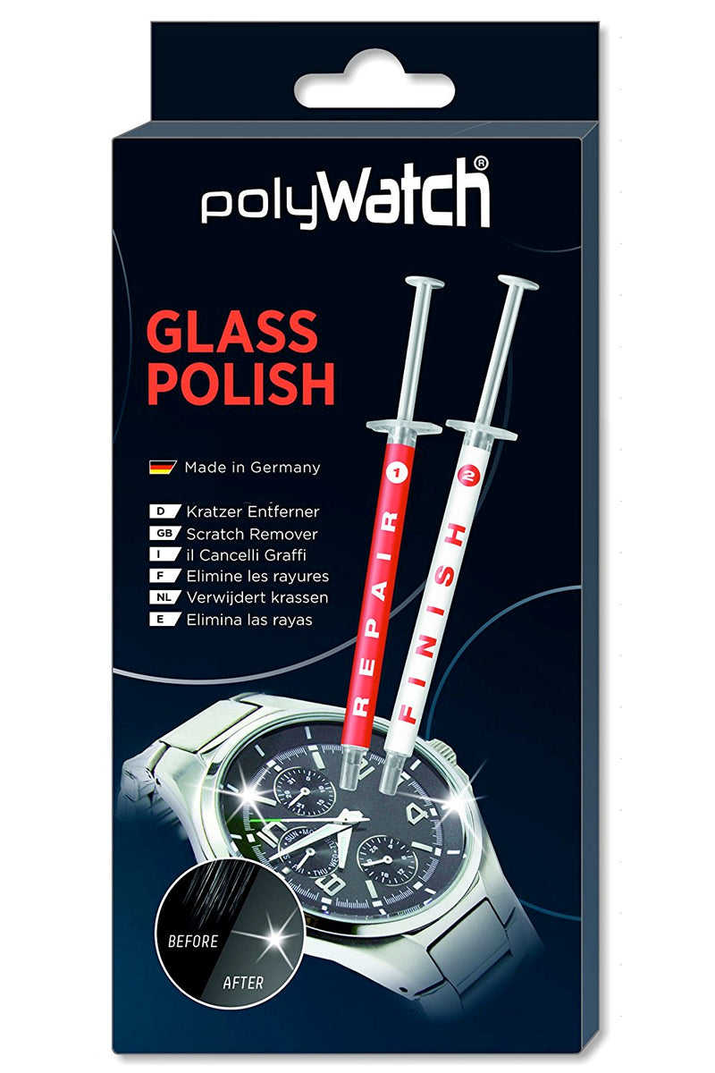 POLYWATCH Diamond Polish Scratch Remover for Glass Watch Crystals