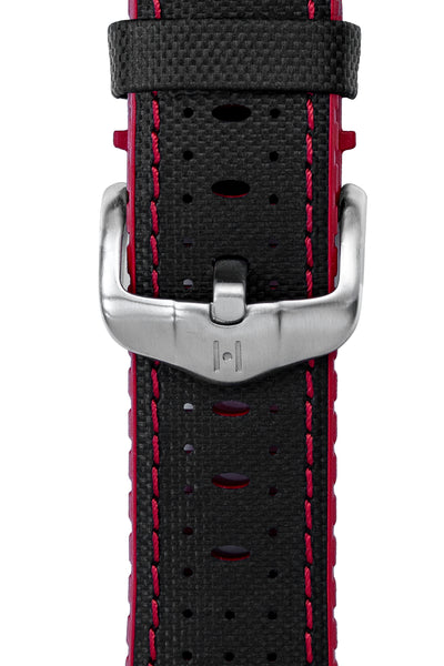 Hirsch H-Active Buckle in BRUSHED STEEL