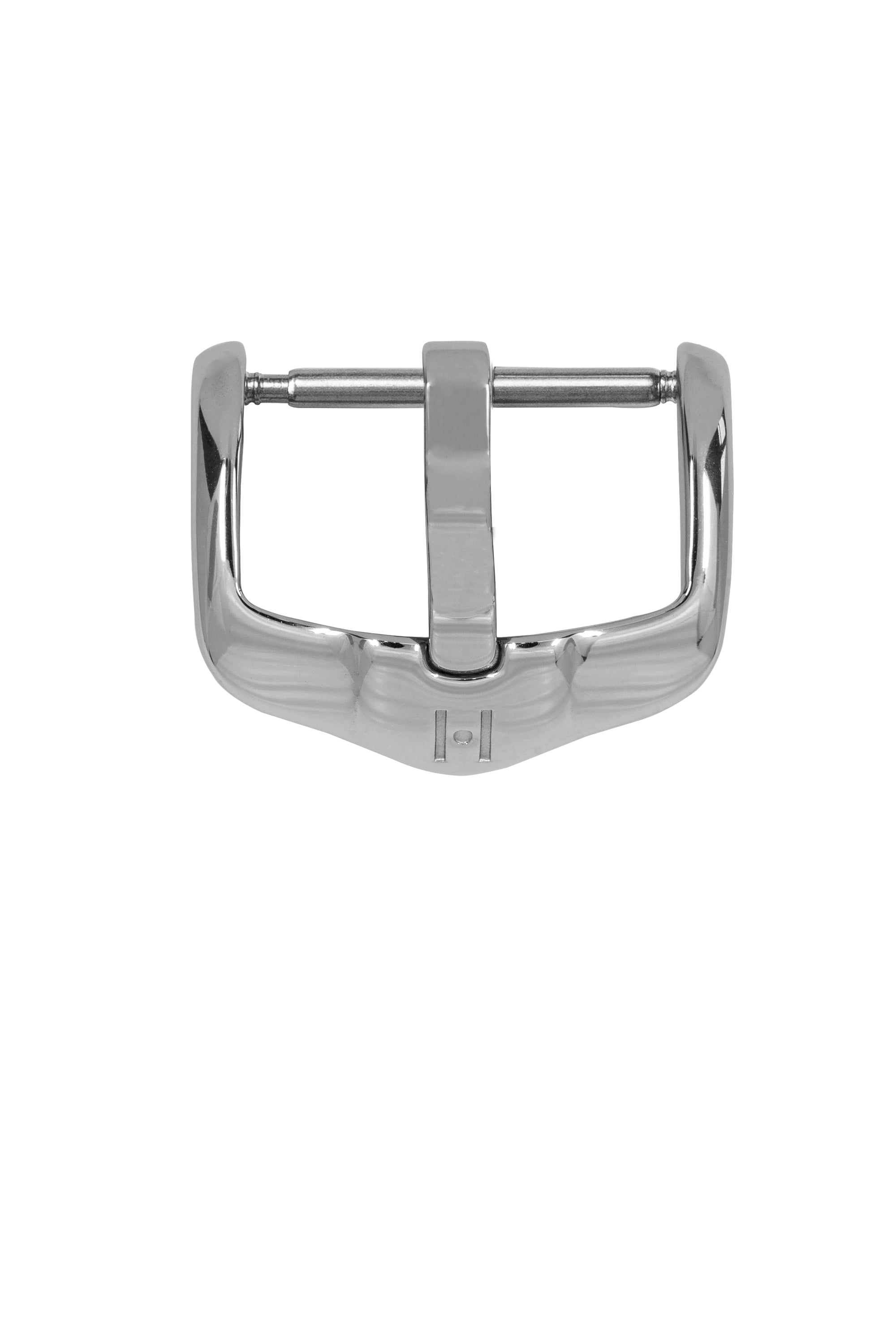 Hirsch H-Active Polished Stainless Steel Buckle in Silver-Tone