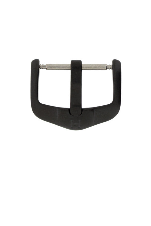 Hirsch H-Active Stainless Steel Buckle with Black PVD Coating