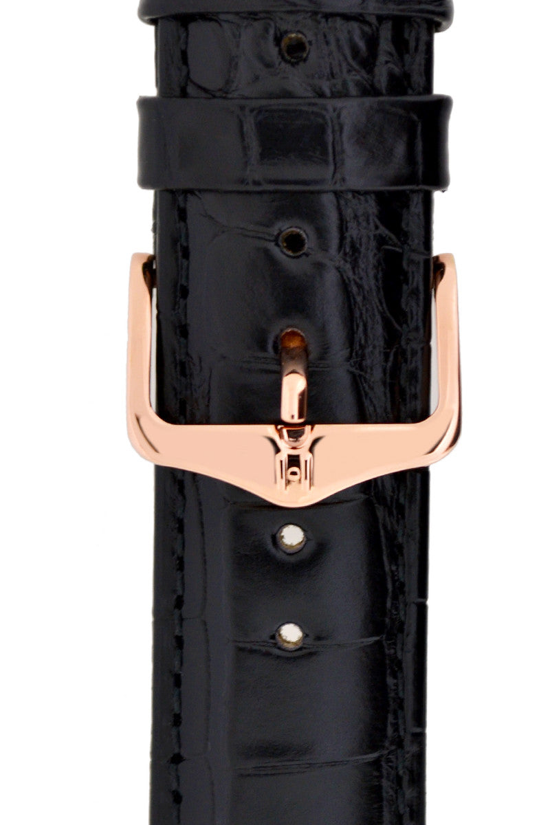 Hirsch H-Tradition Buckle in Rose Gold-Tone