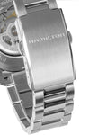 HAMILTON H70595133 Khaki Field Auto 40mm Watch - Black Dial & Steel Bracelet