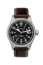 HAMILTON H70625533 Khaki Field Auto 44mm Watch - Black Dial