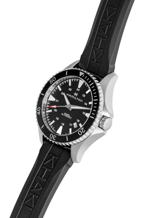 HAMILTON H82335331 Khaki Navy Scuba Automatic 40mm Watch - Black Dial