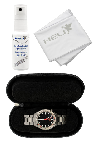 HELI Professional Watch Care and Travel Kit (Contents)