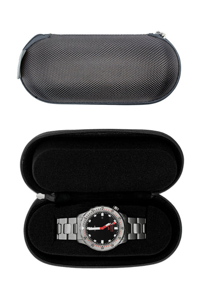 HELI Professional Watch Care and Travel Kit (Fabric Single Watch Case)