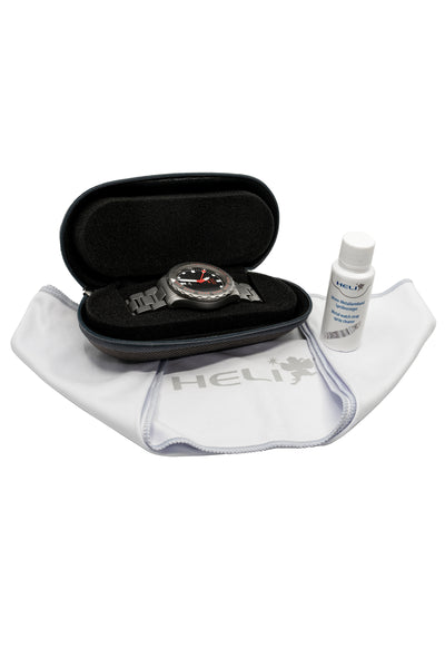 HELI Professional Watch Care and Travel Kit (Packaging Contents)