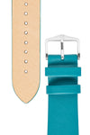 Hirsch VIAZZA Ladies Leather Quick-Release Watch Strap in PETROL