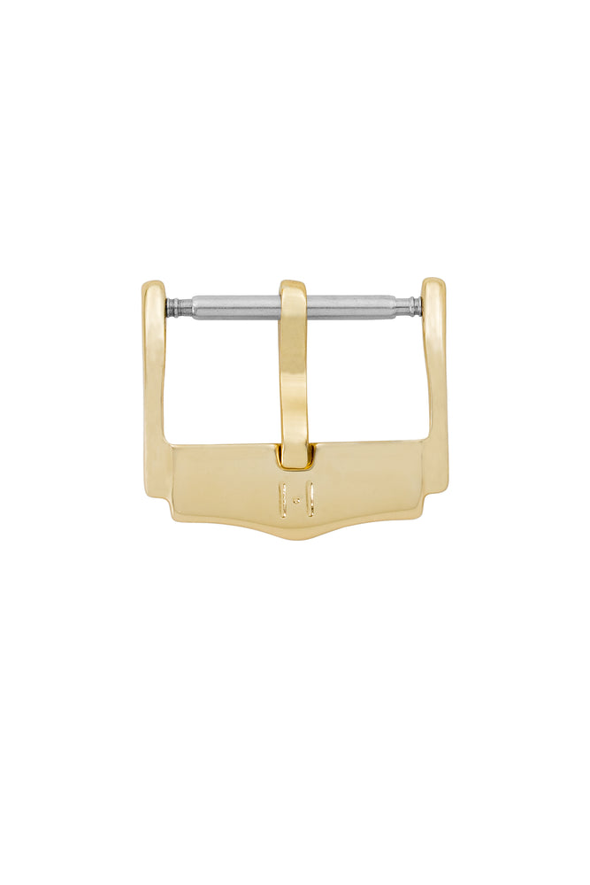 Hirsch H-Catwalk Polished Stainless Steel Buckle in Gold-Tone