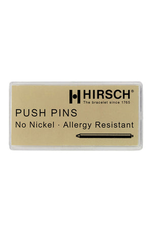 Plastic Box of 100 Watch Spring Bars by Hirsch (Label)