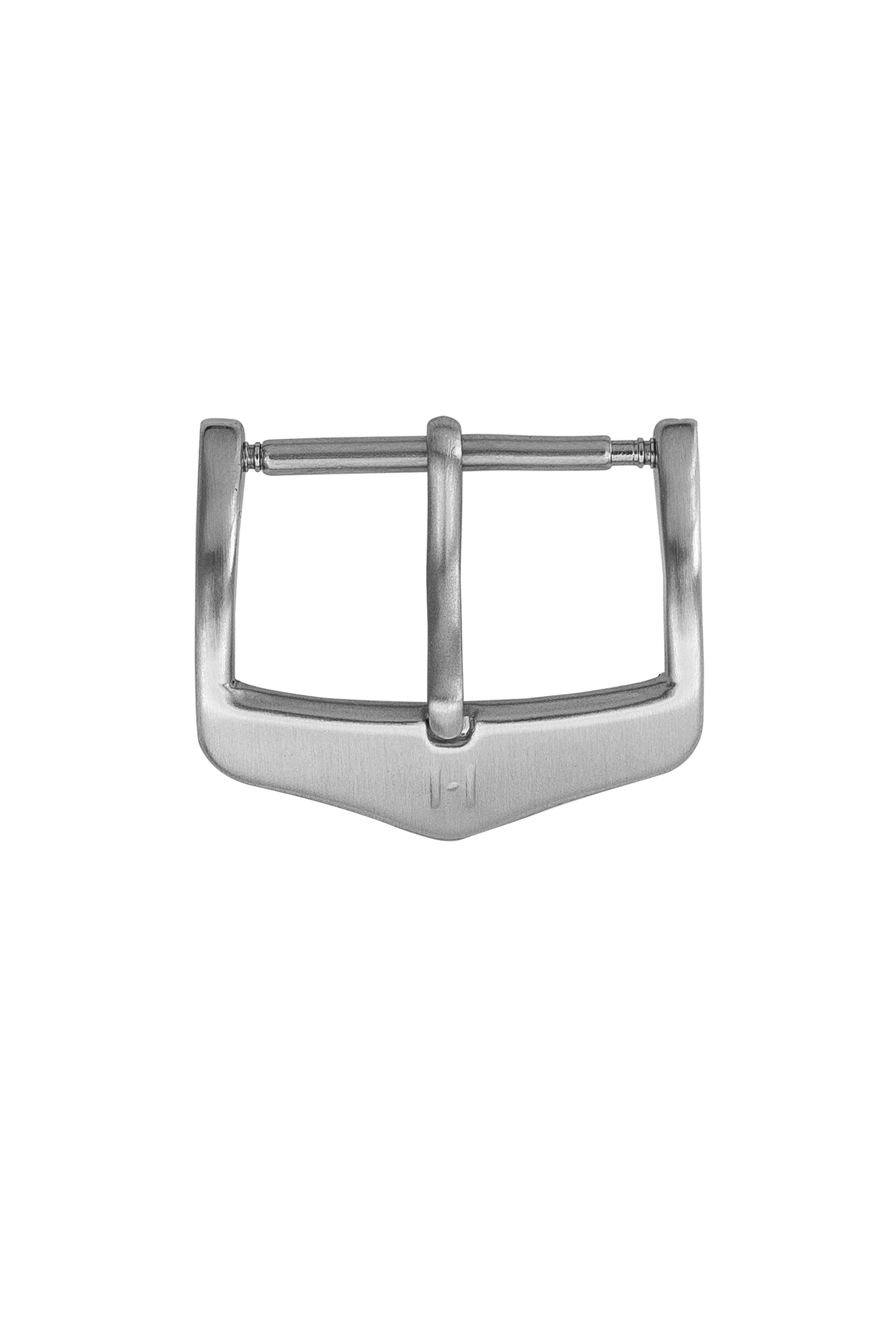 Hirsch H-Classic (HCB) Buckle in BRUSHED SILVER