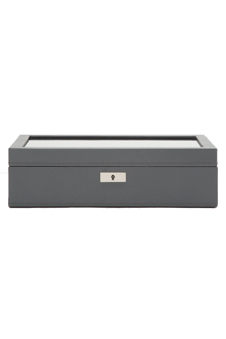 WOLF Howard Watch Box – Grey