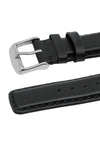 IWC-Style Calf Leather Watch Strap in BLACK
