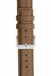 IWC-Style Calf Leather Watch Strap in CARAMEL
