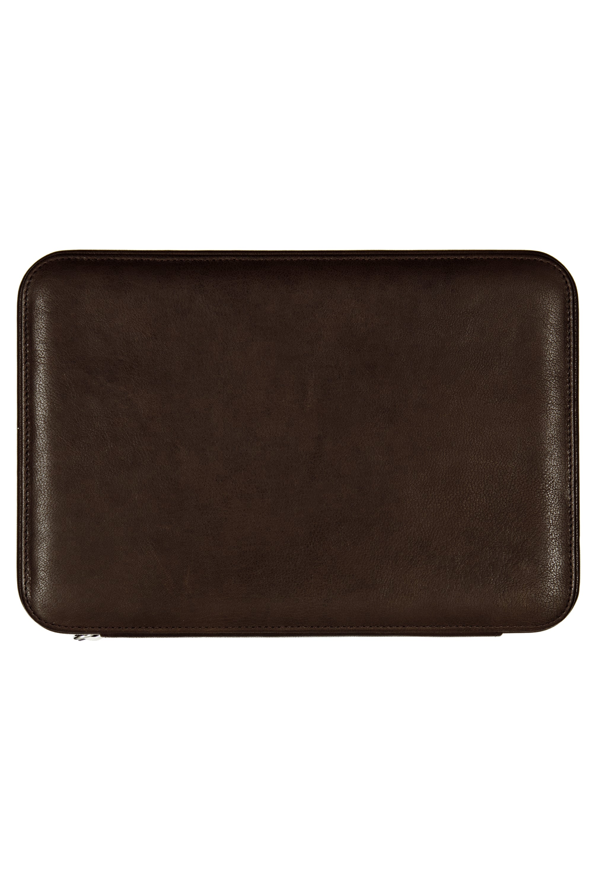 JPM 8-Watch Leather Travel Storage Case in BROWN