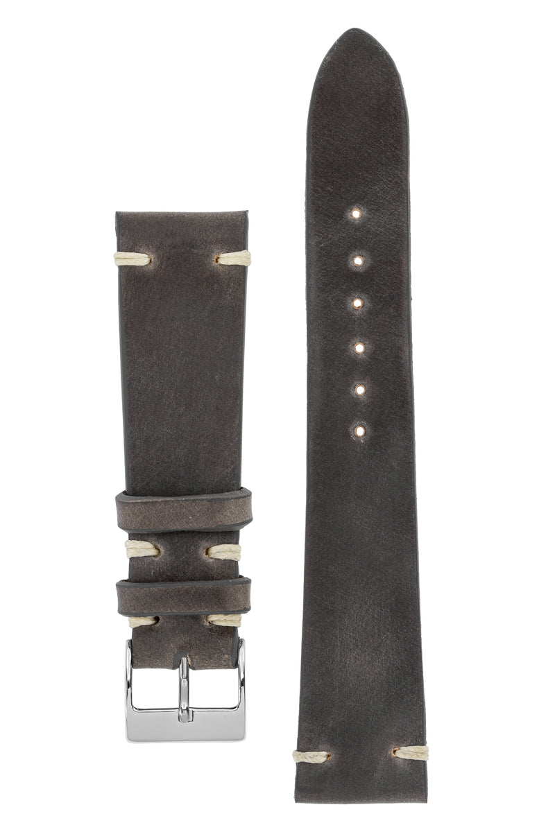 JPM Italian Shell Cordovan Watch Strap in GREY