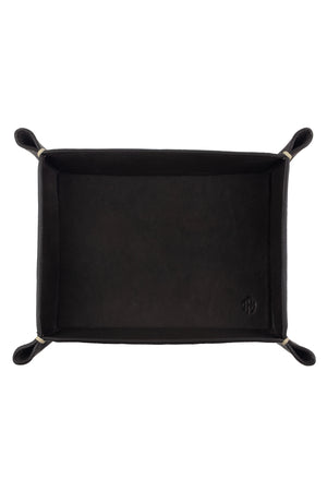 Load image into Gallery viewer, JPM Small Leather Valet Tray in BROWN