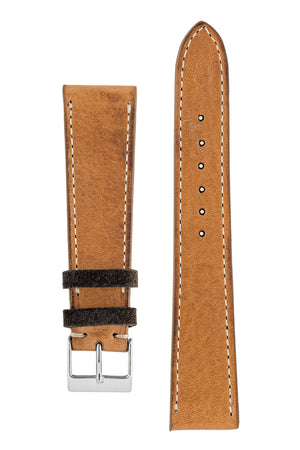 JPM Italian Corsaro Leather Watch Strap in HONEY – KickToc Edition