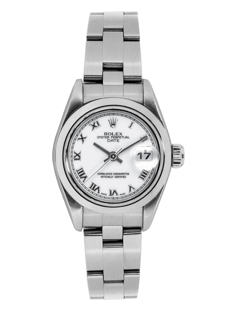 ROLEX Datejust 79160 Ladies Automatic Steel Watch 25mm with White Dial