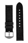 Rios1931 MARYLAND Genuine Vintage Canvas Watch Strap in BLACK