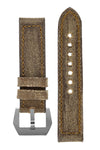 Rios1931 MARYLAND Genuine Vintage Canvas Watch Strap in COGNAC