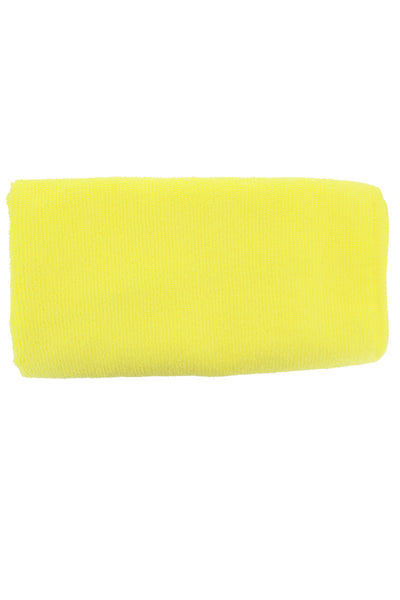 XL Microfibre Watch Cleaning Cloth - YELLOW