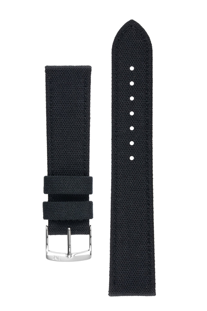 Morellato CORDURA 2 Water-Resistant Fabric Watch Strap in BLACK