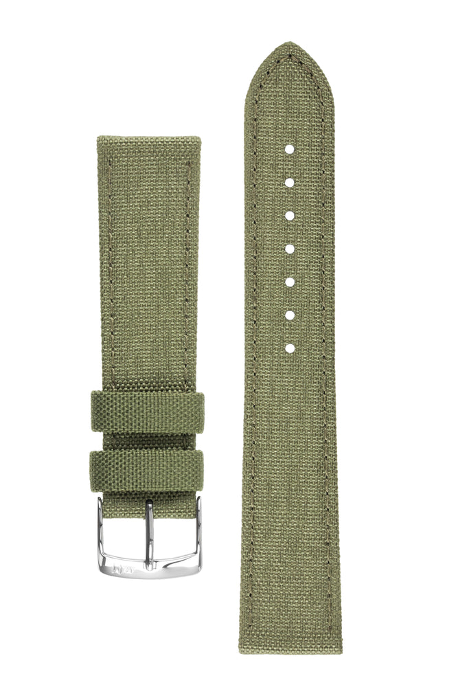Morellato CORDURA 2 Water-Resistant Fabric Watch Strap in GREEN