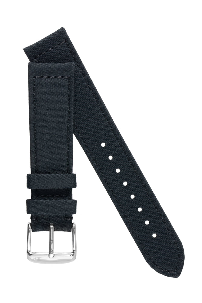 Load image into Gallery viewer, Morellato CORFÙ Recycled Gabardine Fabric Watch Strap in BLACK