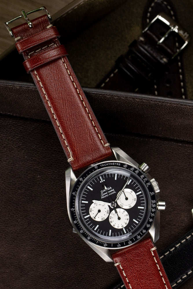 Load image into Gallery viewer, Morellato GAUDÌ Calfskin Leather Watch Strap in GOLD BROWN